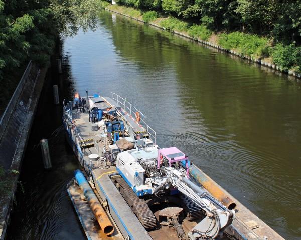 Schifffahrt auf dem Teltowkanal