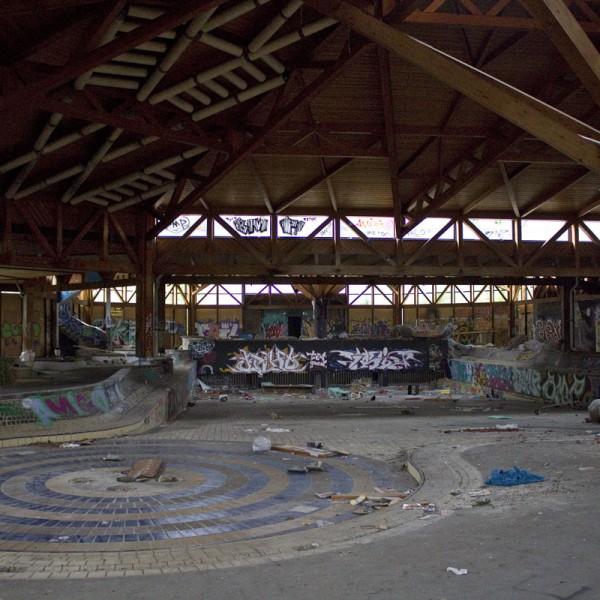 Das ehemalige große Wellenbad