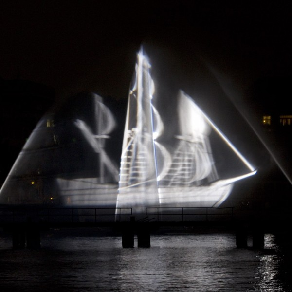 Geisterschiff beim Festival of Lights