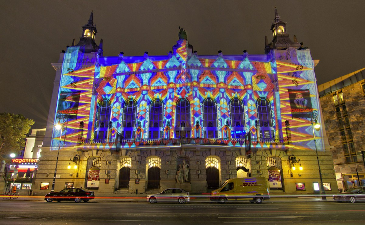 Theater des Westens beim Festival of Lights