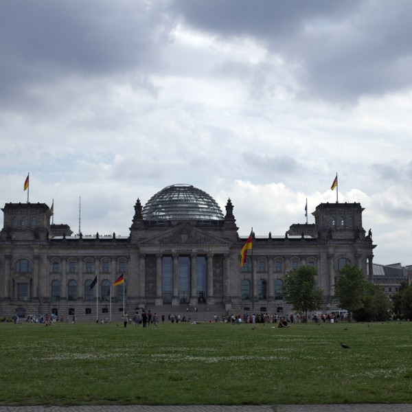 Reichstag mit Reichstagskuppel
