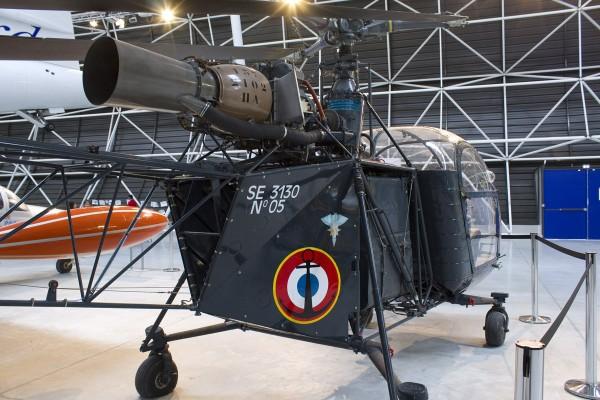 Alouette II Marinehubschrauber