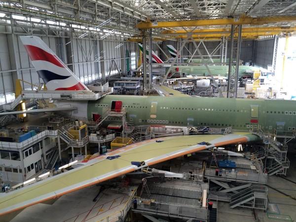 Airbus Montagehalle