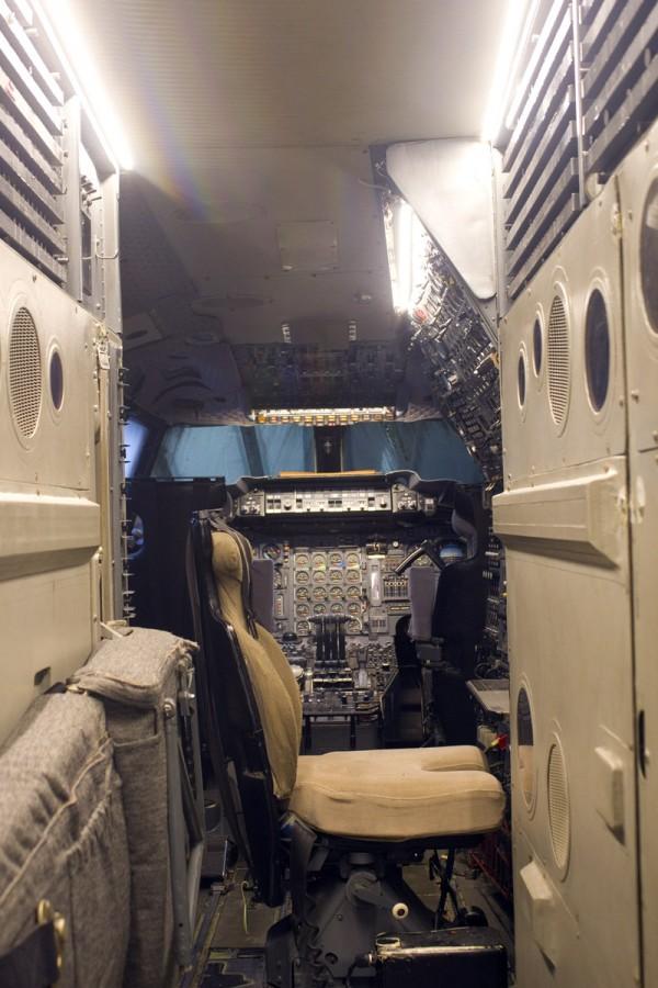 Blick ins Cockpit der Concorde