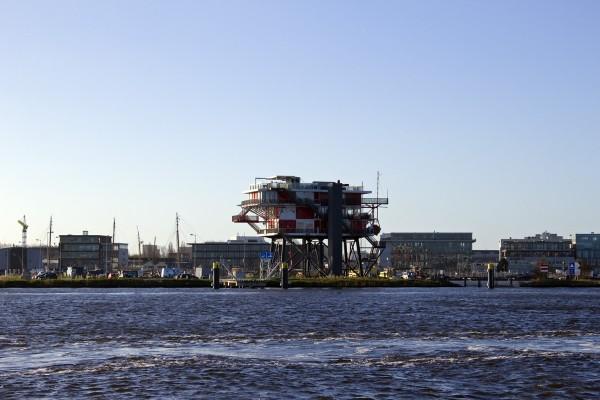 Hafen Amsterdam Neubauten
