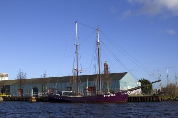 Segelschiff Twister in Amsterdam