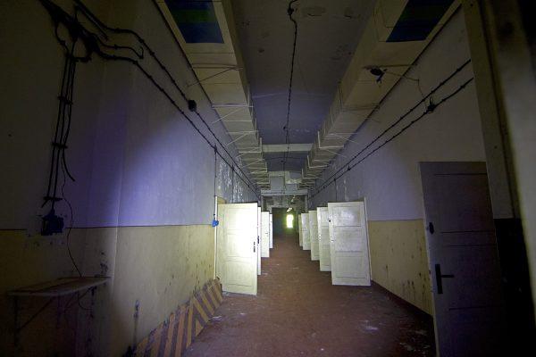Verlassene Bunkeranlage in Vogelsang