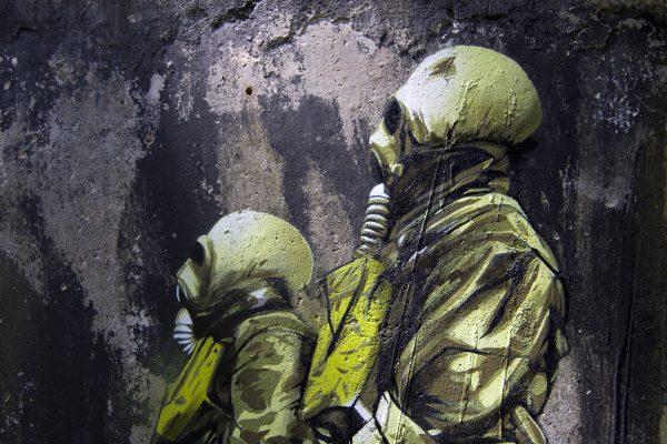 Radioactive graffiti